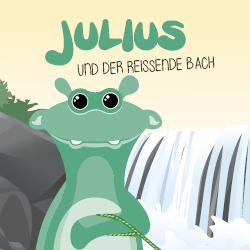 Julius und der reissende Bach Titelbild