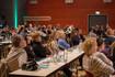 Zuhörer des Narbensymposiums