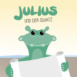 Julius und der Schatz Titelbild