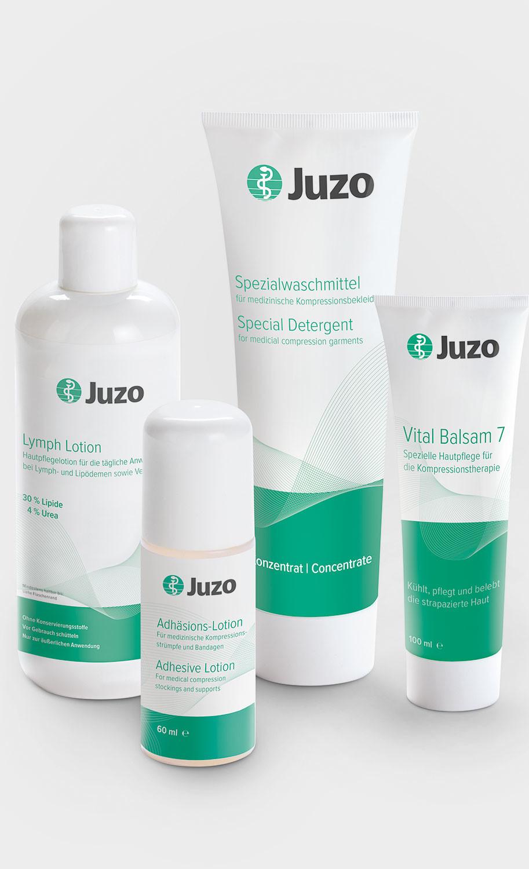 Productos para el cuidado de Juzo