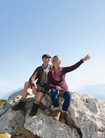 Couple on the summit is wearing Juzo GenuXtra