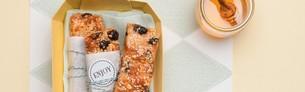 Sesam-honingrepen met honingglans