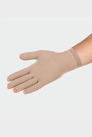Juzo ScarPrime Seamless Handske beige kort model