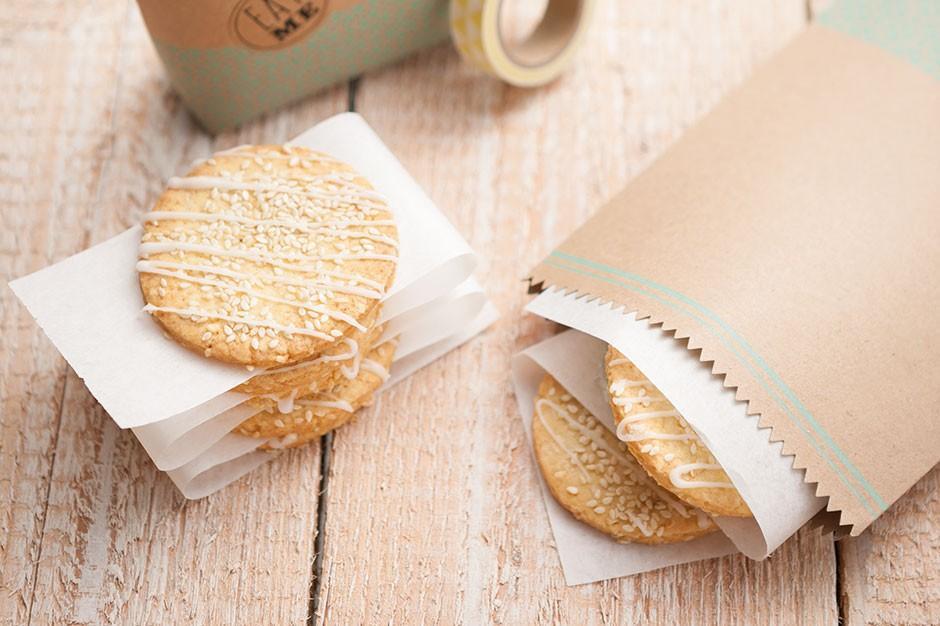 Biscoitos de sésamo Juzo