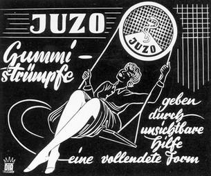 Historyczna reklama Juzo