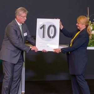 10. Berliner Lymphologische Symposium: Herr Uwe Schettler und Frau Dr. med. Anett Reißhauer