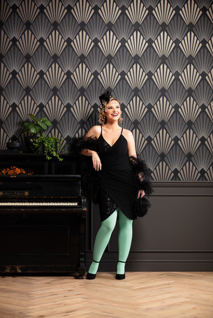 Juzo compression garments in the Fashion Colour Noble Mint