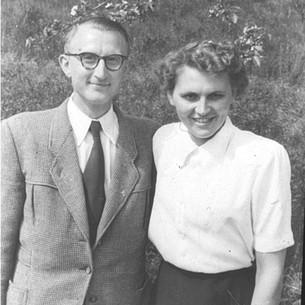 El nieto del fundador de la empresa, Hans-Julius Zorn, y su esposa Rosemarie