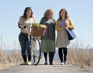 Tre kvinder i byen