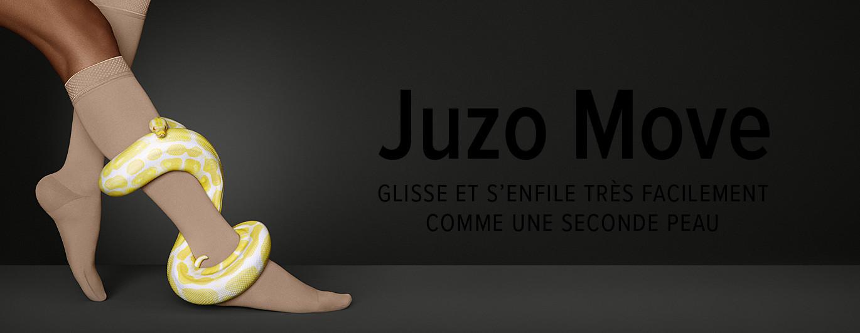 Juzo Move – GLISSE ET S'ENFILE TRÈS FACILEMENT COMME UNE SECONDE PEAU