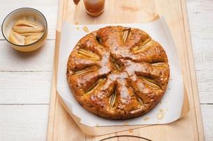 Juzo Krydderpære-chokoladekage