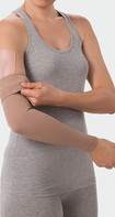 Juzo ScarPad, combinado com compressão no braço