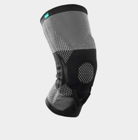 Orthosis used to influence the path of the patella