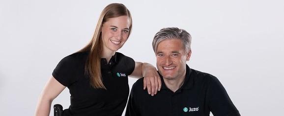 Anna Schaffelhuber och Gerd Schönfelder