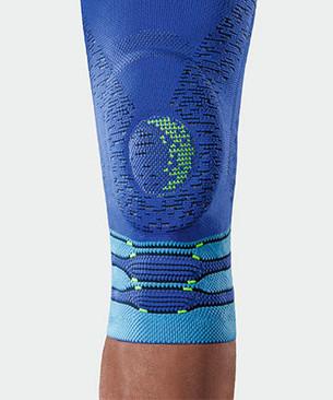 Ginocchiera JuzoFlex Genu Xtra STYLE nel colore blu