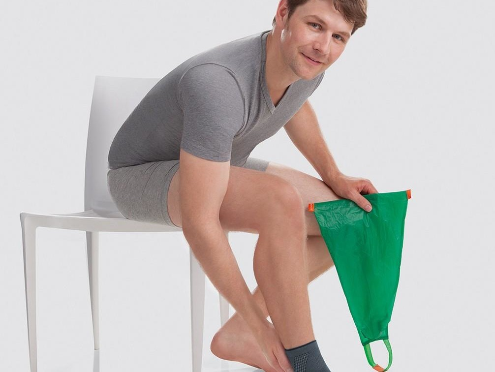Un homme portant un bandage Juzo