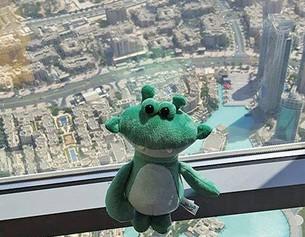 Julius en el Burj Khalifa