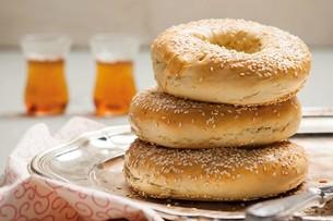 Juzo Sesame Bagels