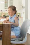 Child sitting at the table