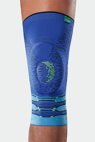 Knie met de Genu Xtra Style in Blue Sensation