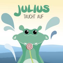 Julius taucht auf Titelbild