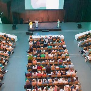 Das Publikum des Lymphologisches Symposiums in München, 2016