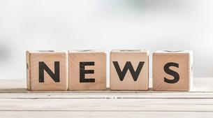 Blockwürfel mit dem Wort News