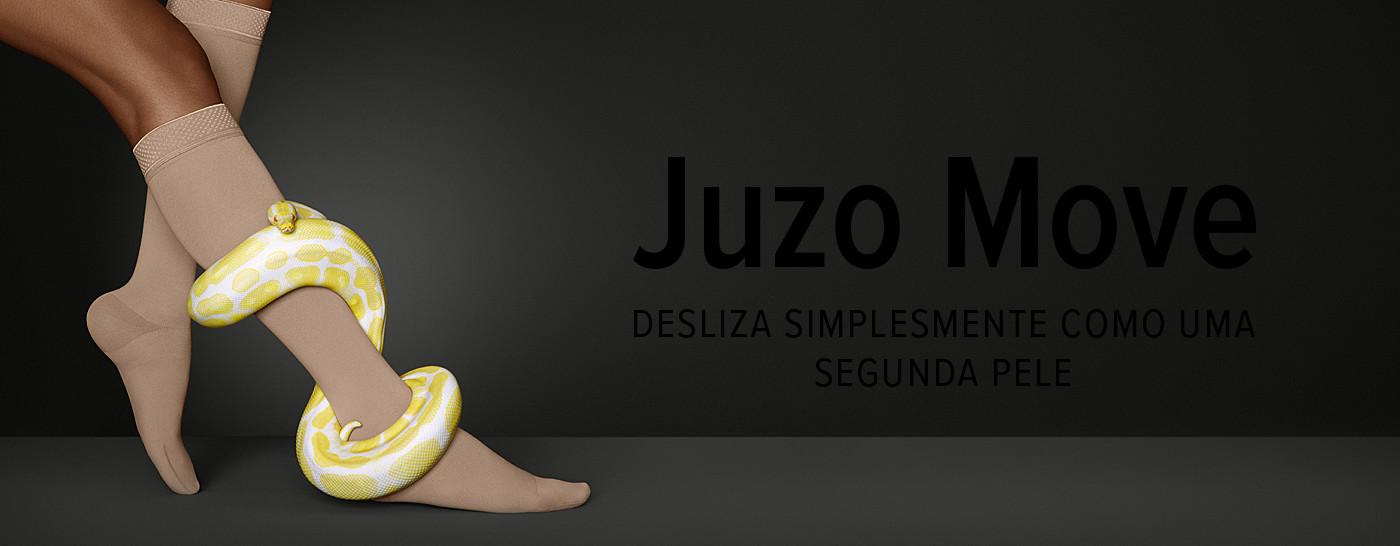 Juzo Move – DESLIZA SIMPLESMENTE COMO UMA SEGUNDA PELE