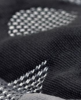 Het Xtra-breiwerk als lumbaalbandage