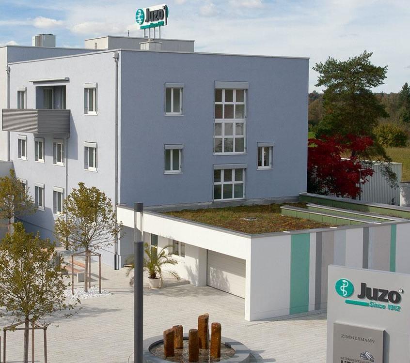 Firmengebäude von Juzo