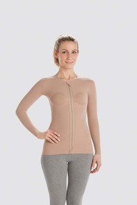 Thorax compression vests with long sleeves