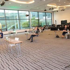 Erstes Juzo Symposium, das via Livestream übertragen wurde.