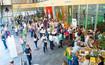 Menschen beim Lymph-Symposium in München, 2016