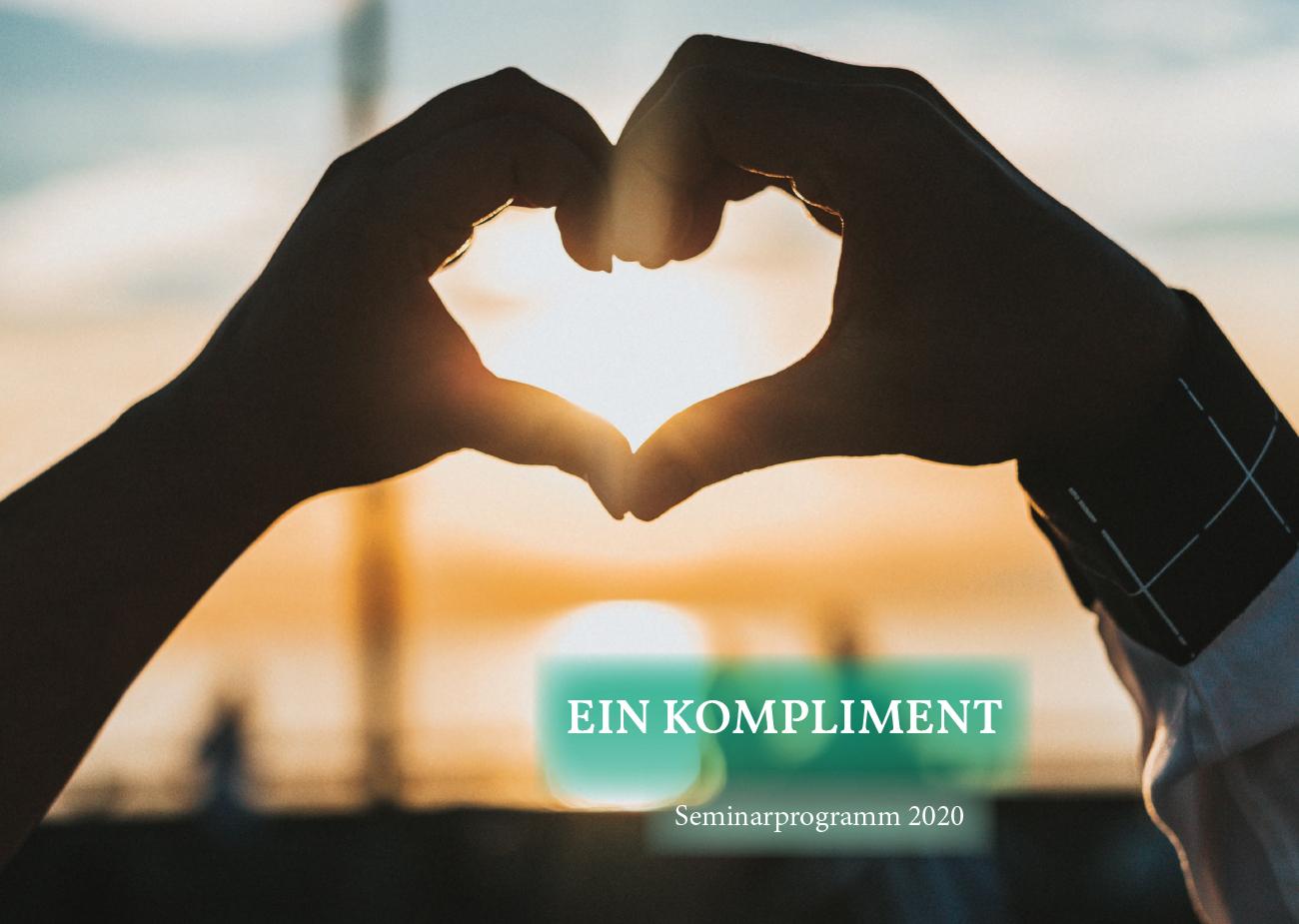 Juzo Akademie Seminarprogramm 2020 Thema Ein Kompliment