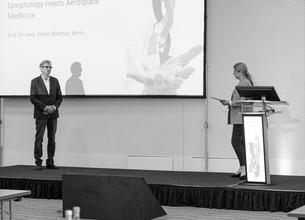 Zwei Referenten halten Vortrag auf 9. Berliner lymphologischen Symposium