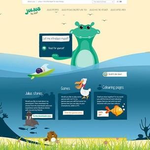 Homepage van Julius - de kleine helper website