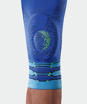 JuzoFlex Genu Xtra STYLE in blauw