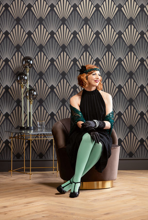 Colourful compression stockings in the Juzo colour  Noble Mint
