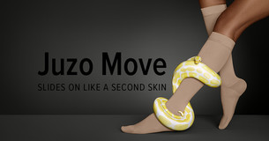 Juzo Move – SLIDES ON LIKE A SECOND SKIN